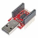 MicroView - USB Programmer  Sparkfun 12924