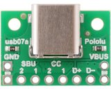 USB 2.0 Type-C Connector Breakout Board Pololu 2585