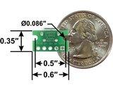 USB Micro-B Connector Breakout Board