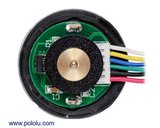 131:1 Metal Gearmotor 37Dx73L mm 24V with 64 CPR Encoder (Helical Pinion) Pololu 4696