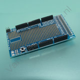 Prototype shield Arduino MEGA met mini breadboard _6