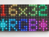 LED matrix panel 16x32 RGB   van Adafruit 420_8