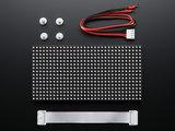 LED matrix panel 16x32 RGB   van Adafruit 420_7