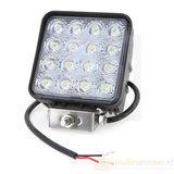 48 watt LED werklamp 12v/24v  Breedstraler 60° 48w_8