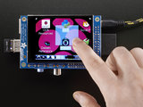 Display Touchscreen 2.8inch PiTFT 320x240 capacitief  Adafruit 1983_8