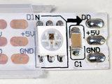 NeoPixel RGB strip 60LEDs/1m wit van Adafruit 1138_8