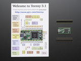 Teensy 3.2 + header  adafruit 2756_8