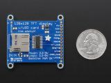 "Adafruit 1.44"" Color TFT LCD Display with MicroSD Card  Adafruit 2088_7"