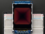"2.2"" 18-bit color TFT LCD display with microSD card breakout Adafruit 1480_8"