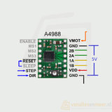 A4988 3D printer driver stepper motor module_7
