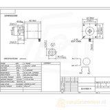 3d-printer reprap 68g Nema 17 Stepper Motor 2 Phase _5