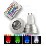 RGB 5W LED Spot Lamp GU10 met Afstandbediening_8