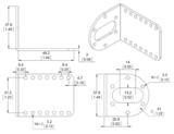 L-Bracket  Metal Gearmotors (2-Pack) Pololu 1084_8