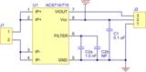 ACS714 Stroomsensor print -30 to +30A  Pololu 1187_7