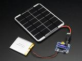 USB / DC / Solar Lithium Ion/Polymer charger - v2 Adafruit 390_6