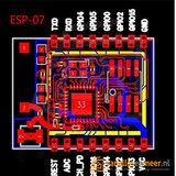 Wifi module ESP8266 Serial Wifi ESP-07 met keramische antenne_5