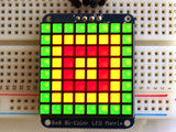 8x8 Bicolor LED Square Pixel Matrix with I2C Backpack  Adafruit 902_7