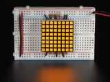 "1.2"" 8x8 Matrix Square Pixel - Yellow  Adafruit 1819_8"