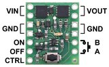 Mini Pushbutton Power Switch with Reverse Voltage Protection, LV  Pololu 2808_8