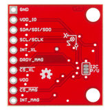 6 Degrees of Freedom Breakout - LSM303Ct Sparkfun 13303
