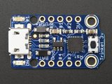 Trinket - Mini Microcontroller - 3.3V Logic - MicroUSB  Adafruit 1500
