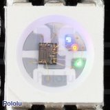 Addressable RGB 8x32-LED Flexible Panel, 5V, 10mm Grid  Pololu 2534