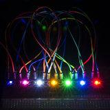 LilyPad Rainbow LED (6 Colors) Sparkfun 13903