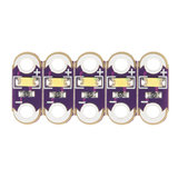 LilyPad LED White (5pcs) Sparkfun 13902