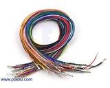 Wires Pre-crimped Terminals 50-Piece 10-Color  M-M 60cm Pololu 2006