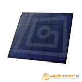 Solarcell Zonnepaneel Zonnecel 6V 4.5W