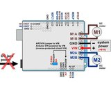 Dual G2 High-Power Motor Driver 18v18 Shield for Arduino Pololu 2515