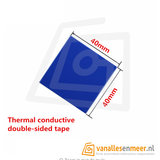Heatsink warmte geleidende sticker 40mm x 40mm