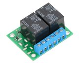Basic 2-Channel SPDT Relay Carrier 12VDC Relays (Assembled) Pololu 2487