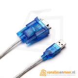 USB 2.0 naar RS232 Kabel 80cm