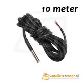 Temperatuur 1 Wire Waterdicht  DS18B20 10meter