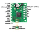 TB67H420FTG Dual/Single Motor Driver Carrier Pololu 2999