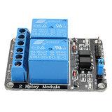 5VDC Relais board 2-kanaals