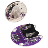 LilyPad Coin Cell Battery Holder - Switched - 20mm Sparkfun 13883