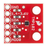 Digital Temperature Sensor Breakout - TMP102  Sparkfun 13314