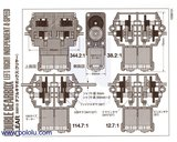 Tamiya 70168 Double Gearbox Kit  Pololu 114