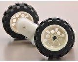 2mm asadapter voor LEGO wielen (paar) Pololu 1001