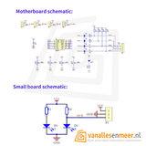 Infrarood reflectie  Lijnvolger sensor 4 kanaals