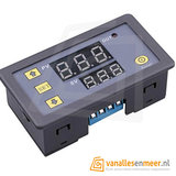 Display LED DC 12V Timer Vertraging Relaisbord 1500W 10A