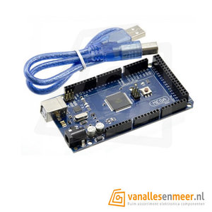 MEGA 2560 R3 met Usb kabel