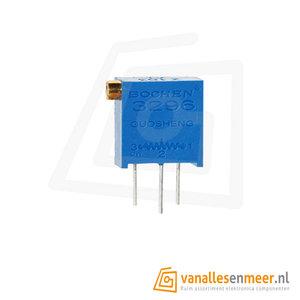 3296Z 101 Weerstand regelbaar / precisie potentiometer 100 Ohm