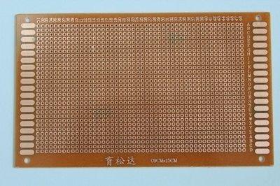 Prototyping board 12x18cm (36x60gaats) PCB
