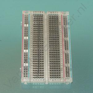 Breadboard 400  pins MB102 Clear