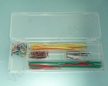Jumper kabeltjes in opbergbox 140-delig 22AWG