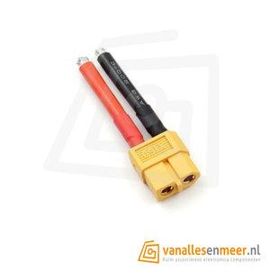 XT60 female plug 12AWG kabel