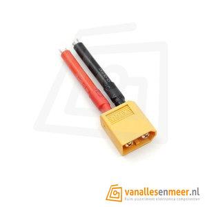 XT60 male plug 12AWG kabel